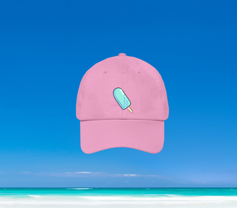 SUMMER IN OKINAWA - ICEY DAD HAT PINK (PRE-ORDER)