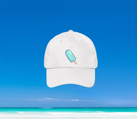 SUMMER IN OKINAWA - ICEY DAD HAT WEISS (PRE-ORDER)