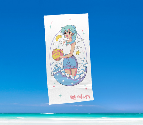 SUMMER IN OKINAWA - ON THE BEACH HANDTUCH 100 x 50 CM (PRE-ORDER)
