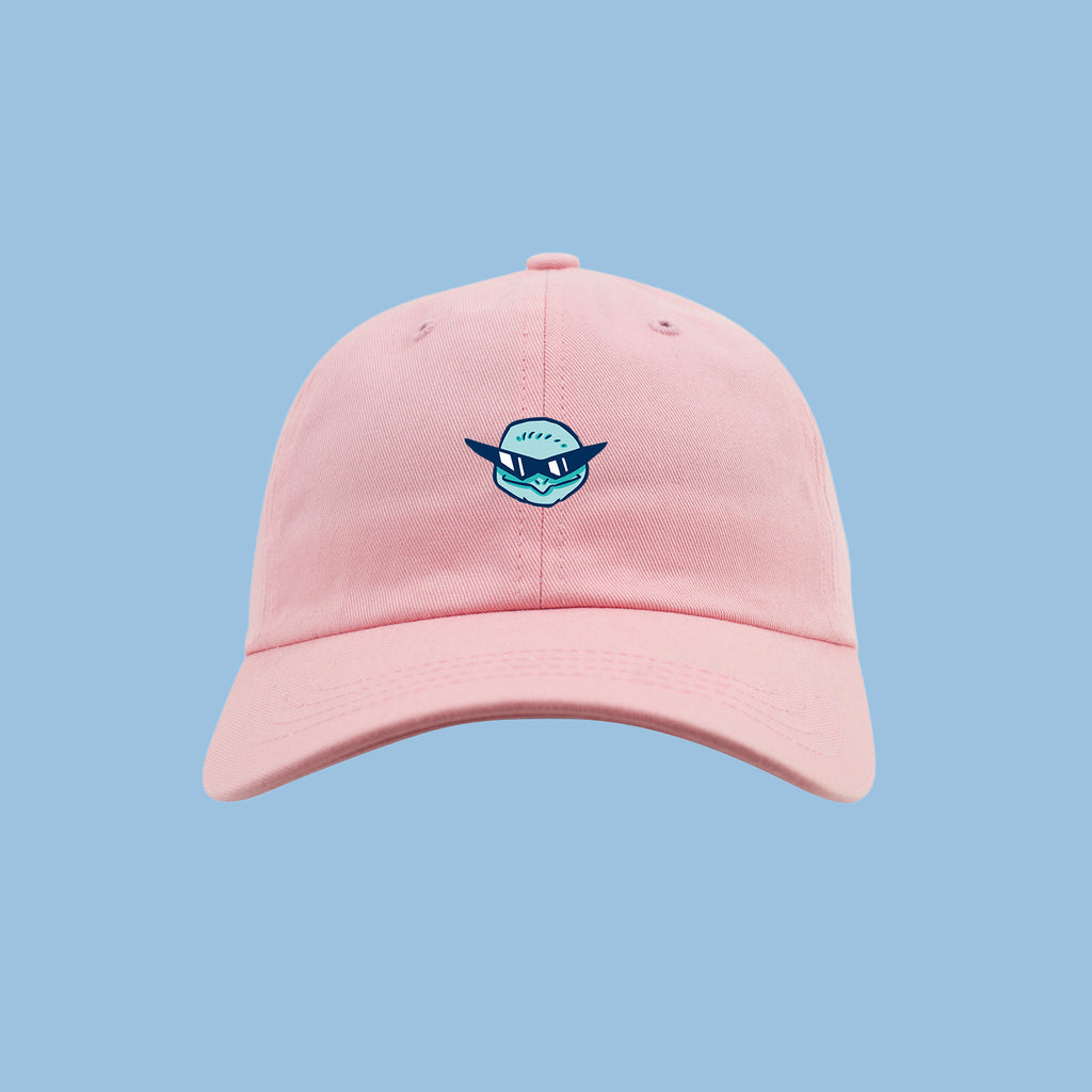 NERDY SQUERDY GANG - DAD HAT PINK