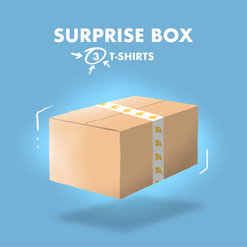 NTG WINTERSCHLUSSVERKAUF - SURPRISE BOX 1 (3 T-SHIRTS)