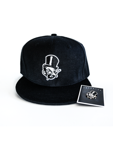 ROCKSTAH - LIMITED COBBLEPOT EARLY BIRD SET: PINGUIN SNAPBACK + PIN