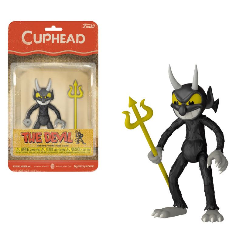 CUPHEAD ACTIONFIGUR THE DEVIL 10CM
