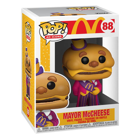 MC DONALD'S - MAYOR MC CHEESE FUNKO POP!