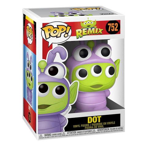 FUNKO POP - PIXAR REMIX - TOY STORY ALIEN AS DOT