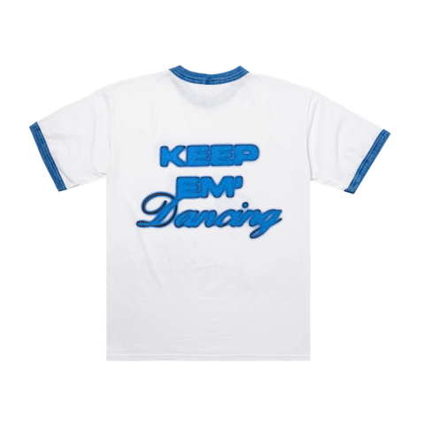 KEEP THE PEACE RINGER T-SHIRT