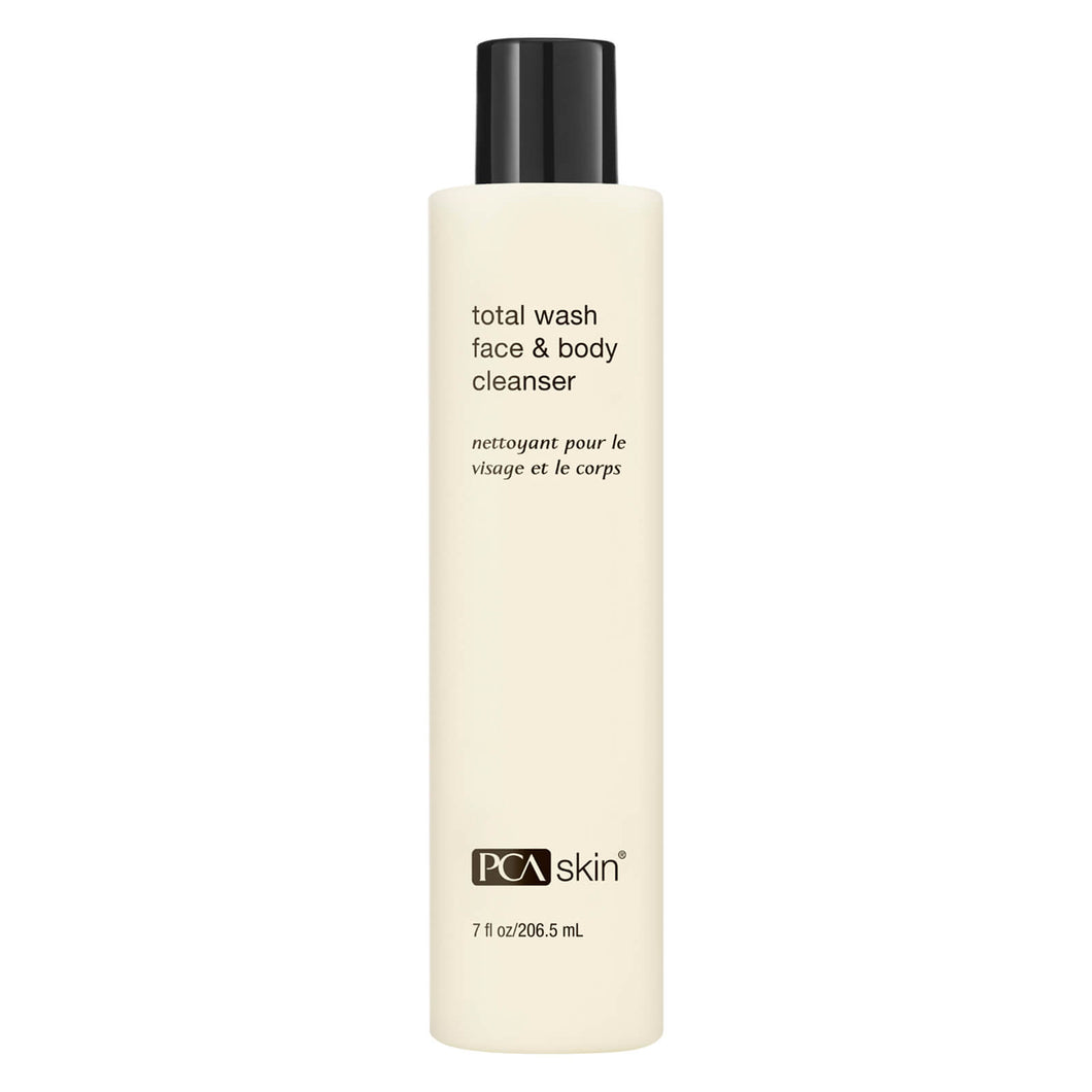 PCA skin MEN Total Wash Face & Body Cleanser