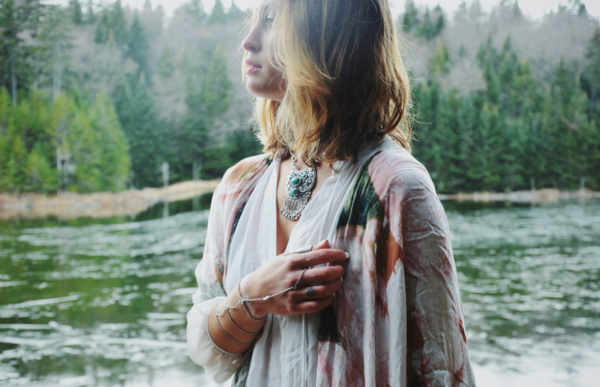 The Boho Child wears OTHERWORLD