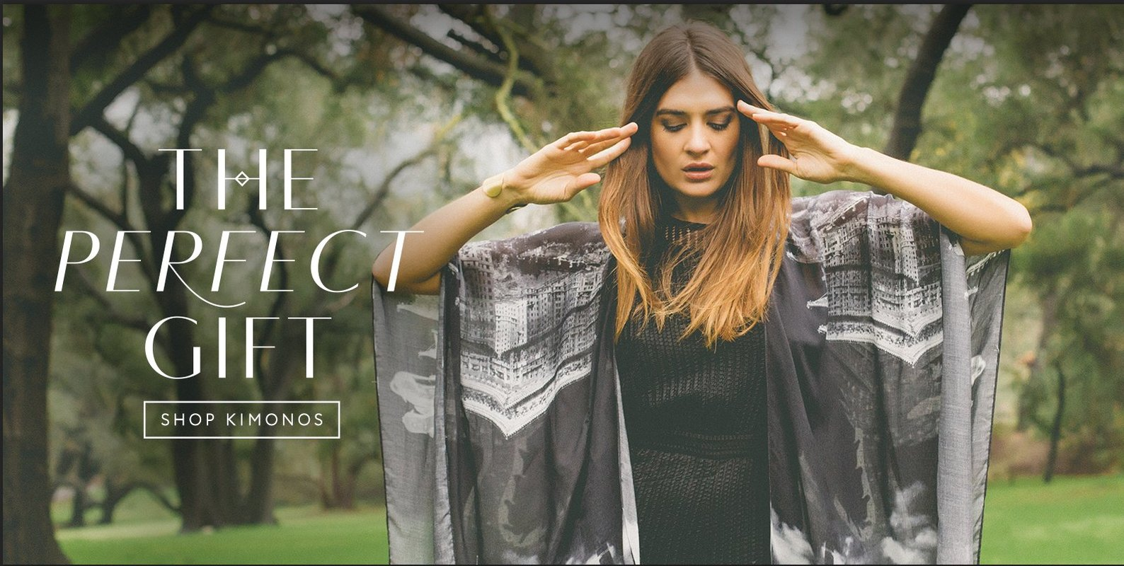Kimonos, scarves and cover-ups designed to electrify the adventuress within. Globally inspired, photographic prints. Free global shipping.