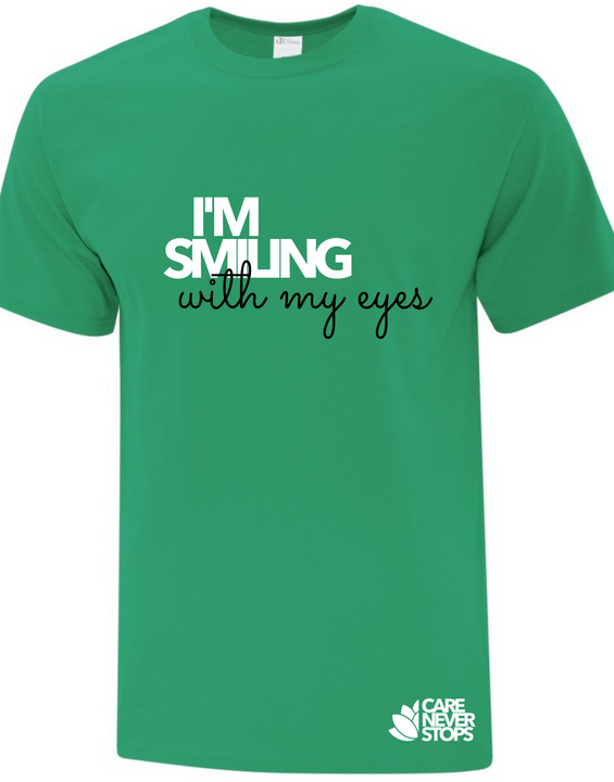 I'm smiling with my eyes - graphic tee