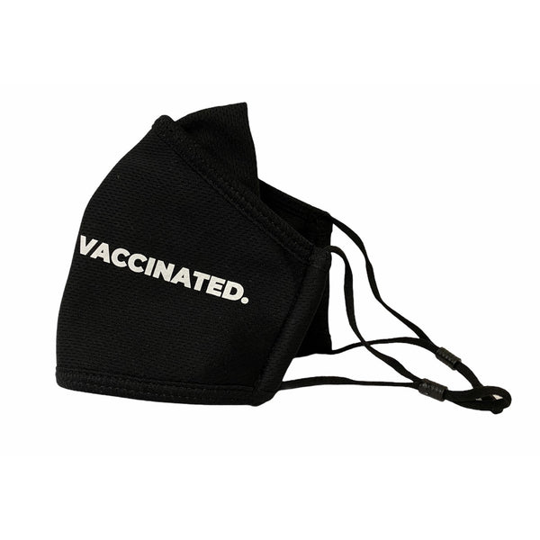 VACCINATED. Masks