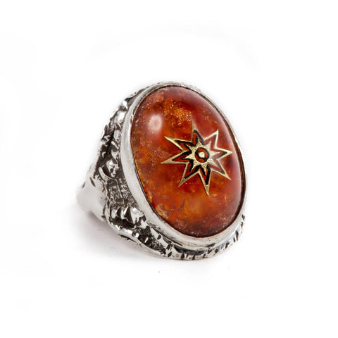 Star of Venus Alex Streeter Angel Heart Ring