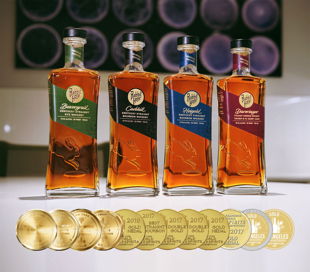Collection of Award-Winning Bourbon