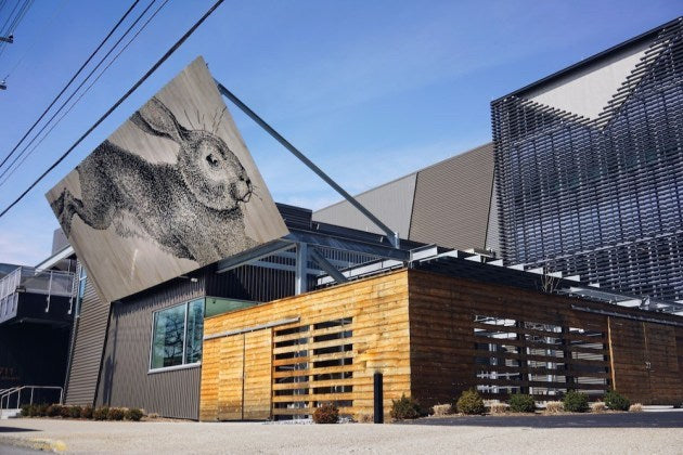 Rabbit Hole Distillery Exterior