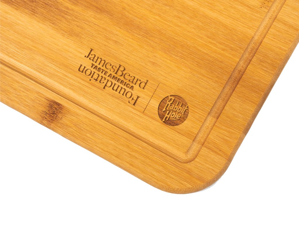 Rabbit Hole Cutting Board Gift (1 per order)