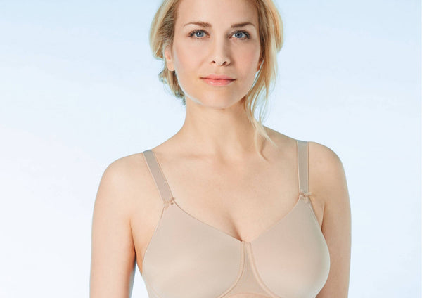 Ella Pocketed - Wire Free - Mastectomy Bra - Nude