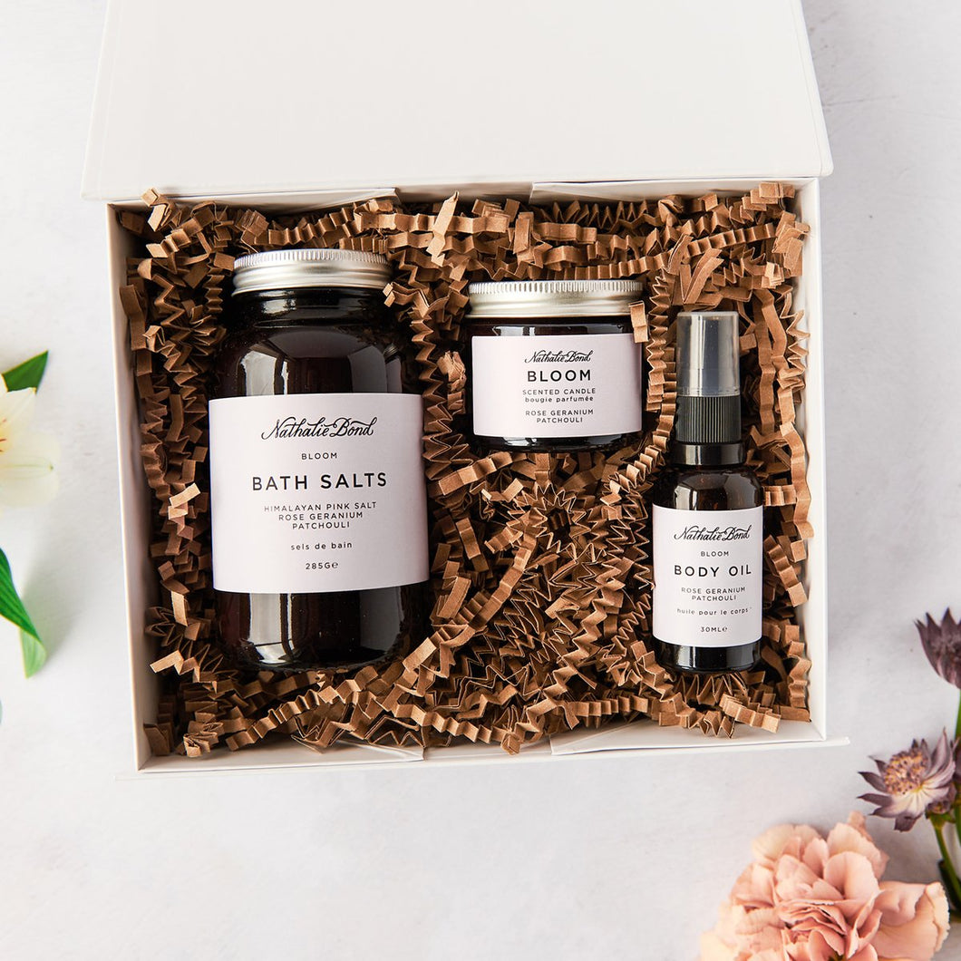 Nathalie Bond Home Spa Kit