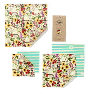 Beeswax Wraps from the Beeswax Wrap Company