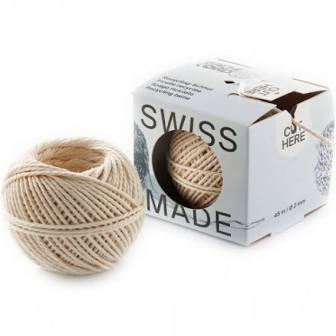 Twine with dispenser