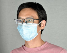 Load image into Gallery viewer, Single Use Disposable Three-Ply Protective Face Mask [EN14683:2019 and ISO13485:2016 certified with Added Protection of Fluid Resistance 120mmHg]