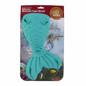 Daily Bake Silicone Cake Mould - Mermaid - everything kitchen