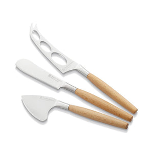 Stanley Rogers Cheese Set 3pc Wood - everything kitchen