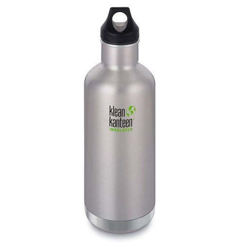 Klean Kanteen 32oz Insulated Classic - Stainless