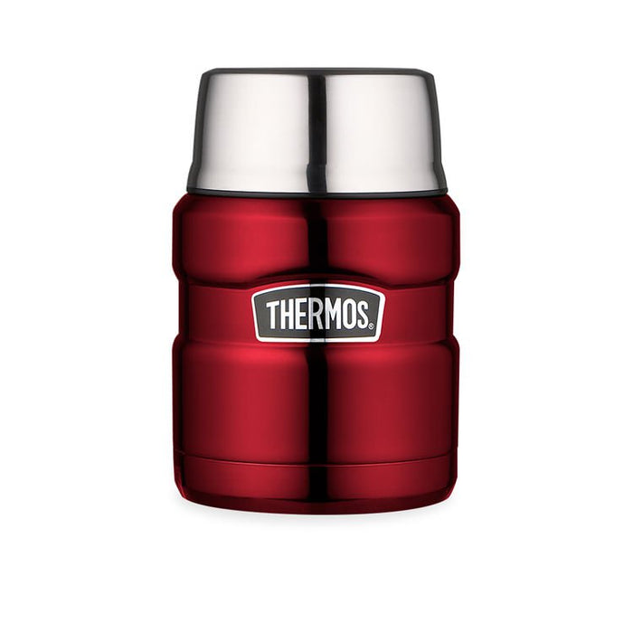 Thermos 470ml King Food Flask Red