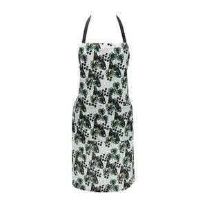Annabel Trends Apron - Black Cockatoo
