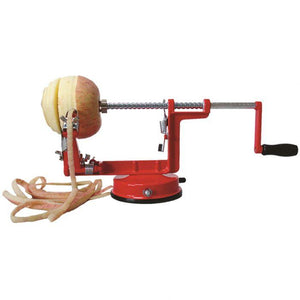 Appetito Apple Peeler/Corer/Slicer Red