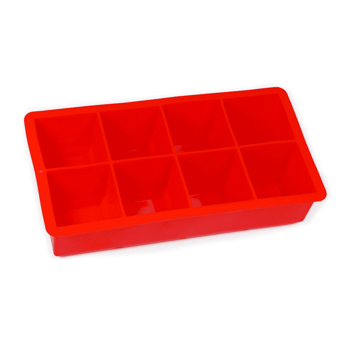 Avanti Silicone 8 Cup Ice Cube Tray - Red
