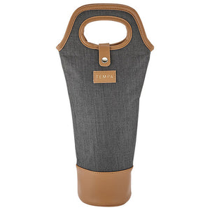 Avery Insulated Wine Bag Charcoal