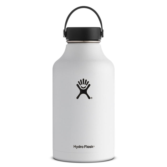Hydro Flask 64oz Wide White