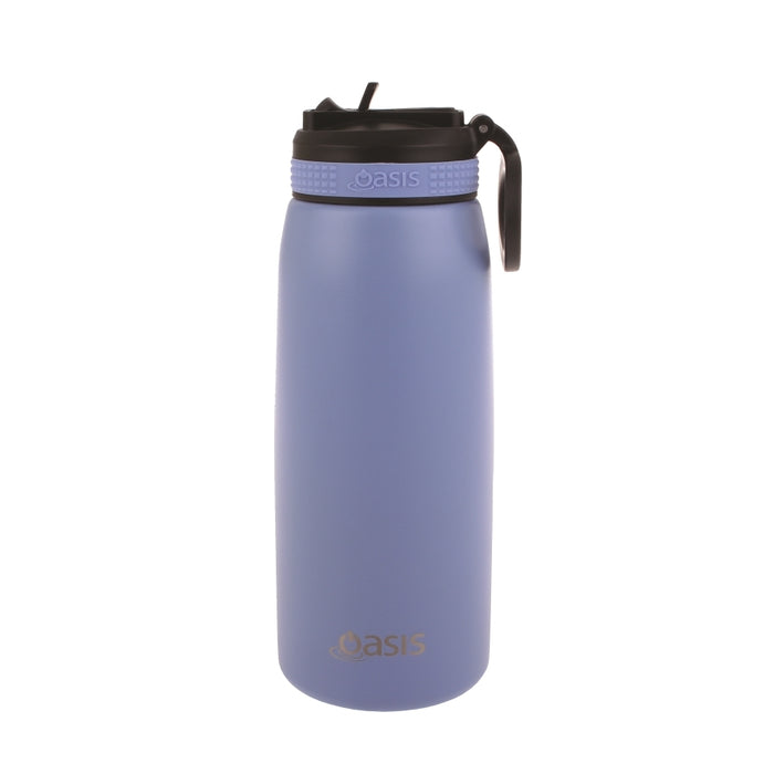 Oasis Sports Bottle w/ Straw 780ml - Lilac