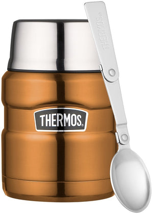 Thermos 470ml King Food Flask -  Copper - everything kitchen