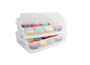 Daily Bake Stackable Cupcake Carrier - everything kitchen
