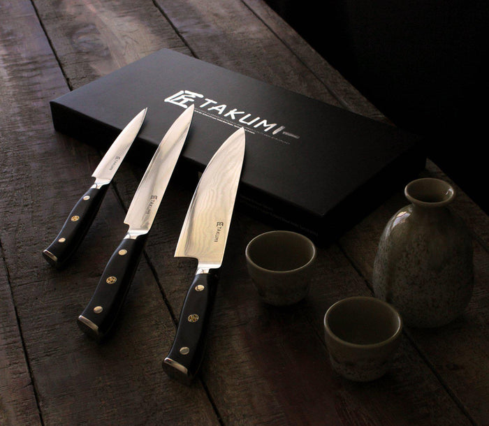 Takumi 3pc Knife Set