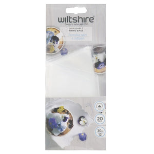 Wiltshire Disposable Piping Bags 30cm Pk/20