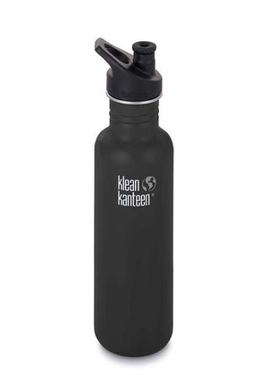Klean Kanteen Classic 27oz Shale Black - everything kitchen
