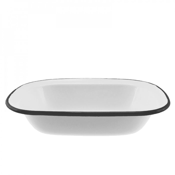 Falcon Enamel Oblong Pie Dish 20cm