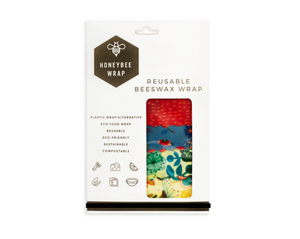 Honeybee Wrap 4pk Beeswax Wrap - everything kitchen