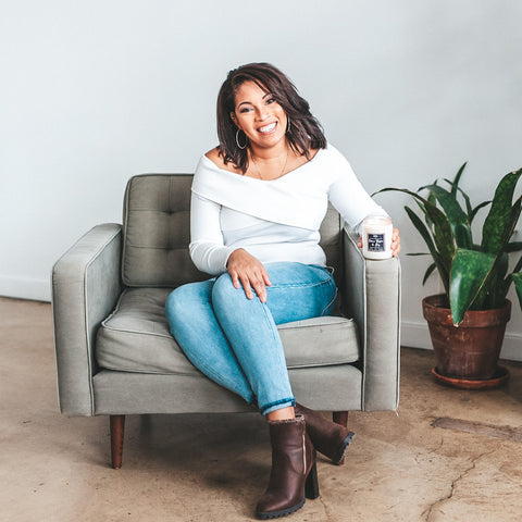 Meet Lauren, the owner and founder of Light My Candle Co.