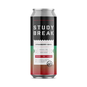 Strawberry + Basil - Study Break Hard Seltzer