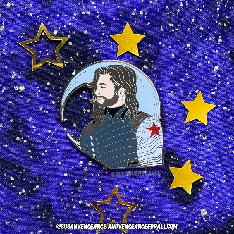 Avengers Astrology Bucky Pin