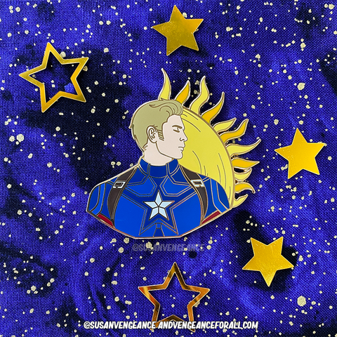 Avengers Astrology Steve Pin