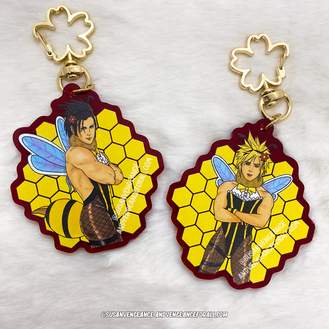 Honeyboy Acrylic Charms