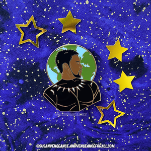 Avengers Astrology T'Challa Pin
