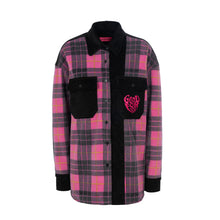 Load image into Gallery viewer, FUXIA CHECK JACKET