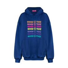 Load image into Gallery viewer, NAVY GOODFORYOU HOODIE