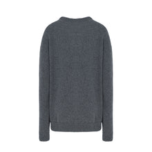 Load image into Gallery viewer, GREY LOGO SWEATER